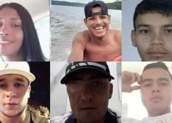 PC solicita colaboração para divulgar as imagens de quatro estrangeiros e dois brasileiros que estão desaparecidos
