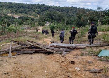 Tentativa de reocupar Monte Horebe é desmobilizada pela Polícia Militar