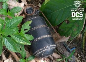 Grupo Marte detona artefato explosivo encontrado em praça no bairro da Paz