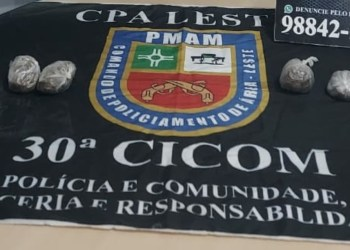 Homem é detido com 400 gramas de entorpecentes, no bairro Jorge Teixeira