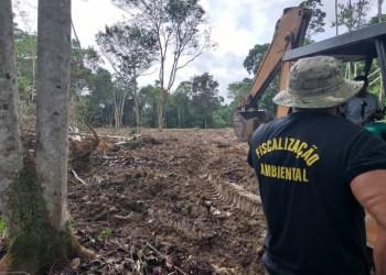 Prefeitura de Manaus flagra obra irregular no Tarumã