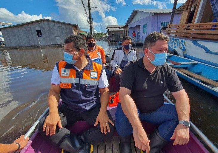 SES-AM fortalece ações de combate à Covid-19 e à dengue em municípios da calha do Purus