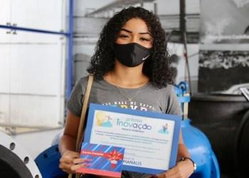 Estudante manauara fatura premiação nacional com projeto de inovação voltado ao saneamento básico