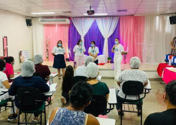 Maternidade Ana Braga realiza semana da mulher em alusão ao 8 de março