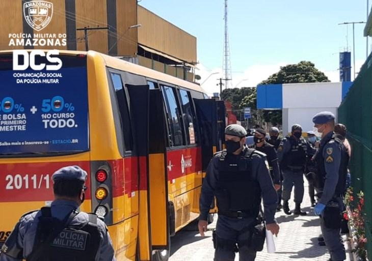 Polícia Militar realiza 'Operação Pacificador' na zona leste de Manaus