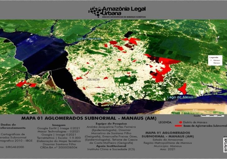 Análises socioespaciais sobre os impactos das mudanças climáticas revelam grave desigualdade racial, étnica e de gênero em Manaus