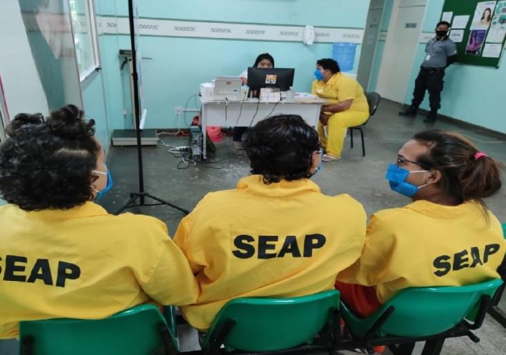 FOTOS: Divulgação/Seap