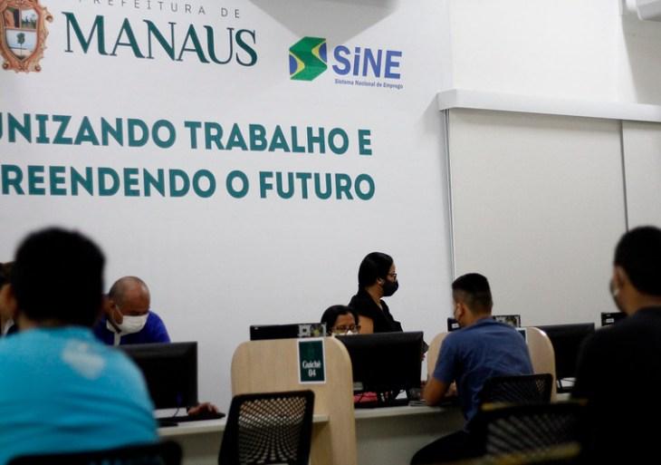Sine Manaus realiza mais de 60 atendimentos no retorno às atividades presenciais