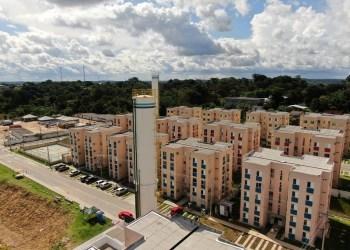 Etapa B do residencial Manauara chega a 95% de obras executadas e David Almeida quer construir outras 5 mil habitações