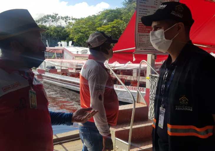 Porto São Raimundo e Marina do Davi foram alvos de operação durante o fim de semana