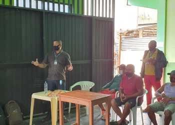 Idam trabalha para viabilizar projeto no valor R$ 150 mil a pescadores de Benjamin Constant