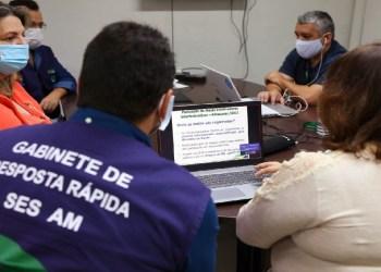 SES-AM inicia oficinas temáticas de construção de metas e indicadores da Saúde para 2021