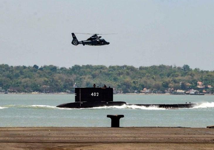 Indonésia encontra submarino e confirma morte dos ocupantes