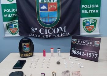 Polícia Militar detém dois homens por tráfico de drogas no bairro Santo Agostinho