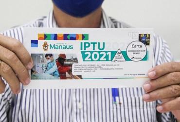 Prefeitura de Manaus alerta contribuintes para vencimento do IPTU na próximasegunda-feira, 17/5