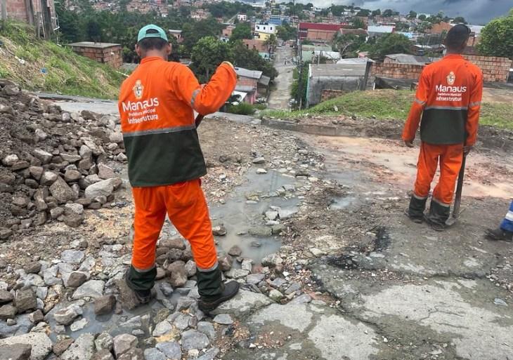 Prefeitura inicia obras que irão beneficiar mais de 150 ruas no bairro Monte das Oliveiras