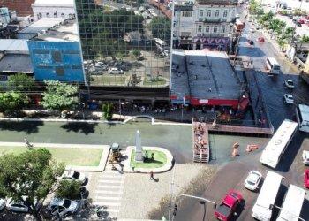 Circulação de ônibus no centro de Manaus será alterada a partir desta terça