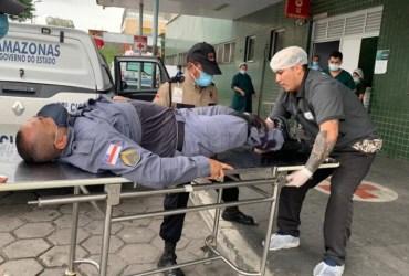 Policial e ferido com um tiro durante confronto com traficantes em Manaus