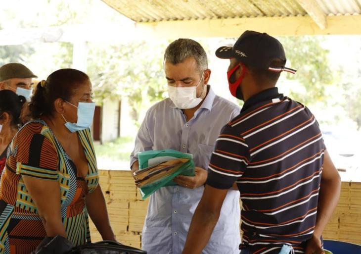 Peixoto visita Conselhão, no Ramal da Cooperativa, e recebe demandas da comunidade