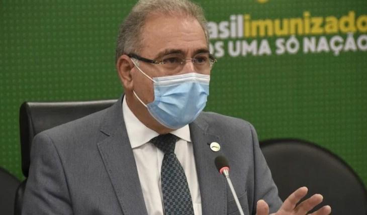 Queiroga garante mais de 40 milhões de doses em junho