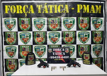 Após trocar tiros com a polícia traficantes são alvejados e presos no Petrópolis