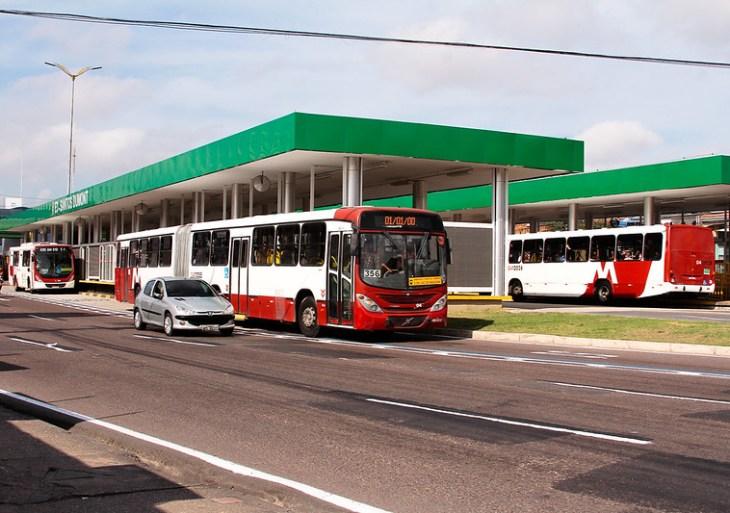 Prefeitura entrega plataforma e nova Estação E3-Santos Dumont aos usuários de transporte de Manaus
