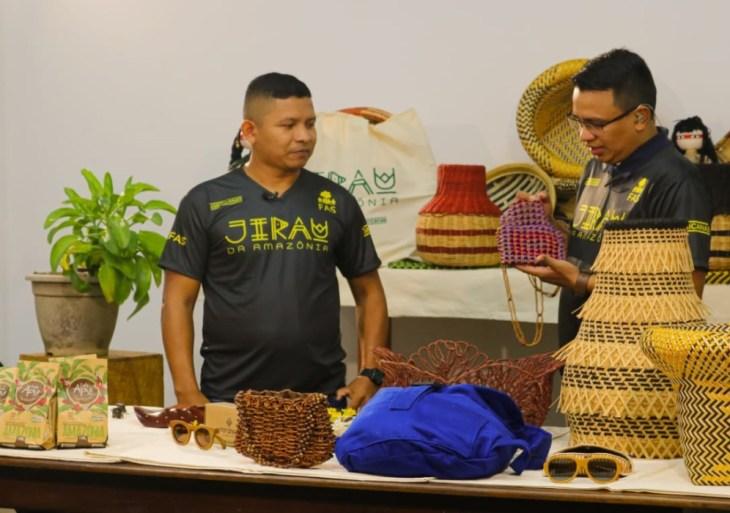 Venda de produtos no Jirau da Amazônia completa 2 anos apoiando artesãos ribeirinhos e indígenas