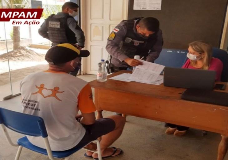 MPAM realiza mutirão carcerário em Envira