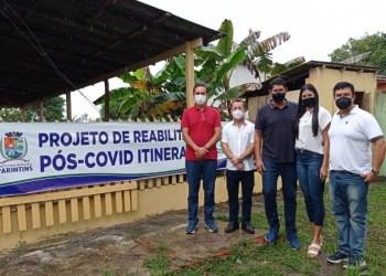Prefeitura de Parintins inicia Projeto de Reabilitação Pós Covid Itinerante no Aninga