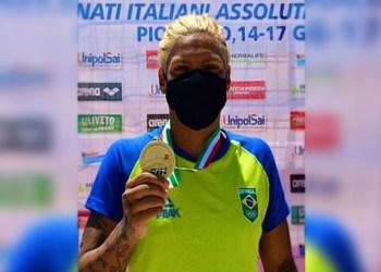Ana Marcela é ouro no Campeonato Italiano Absoluto de Águas Abertas