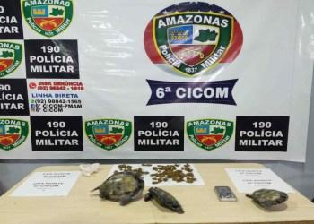 Homem é detido por tráfico de drogas e crime ambiental na zona norte de Manaus