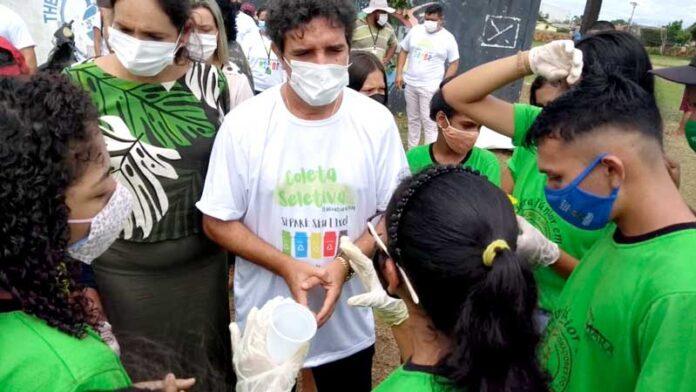 Prefeitura de Itacoatiara realiza ação de educação ambiental, no Jauari