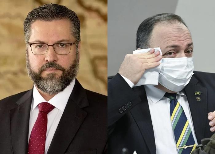 CPI aprova quebra sigilos de Pazuello, Ernesto Araújo e de secretários do Ministério da Saúde