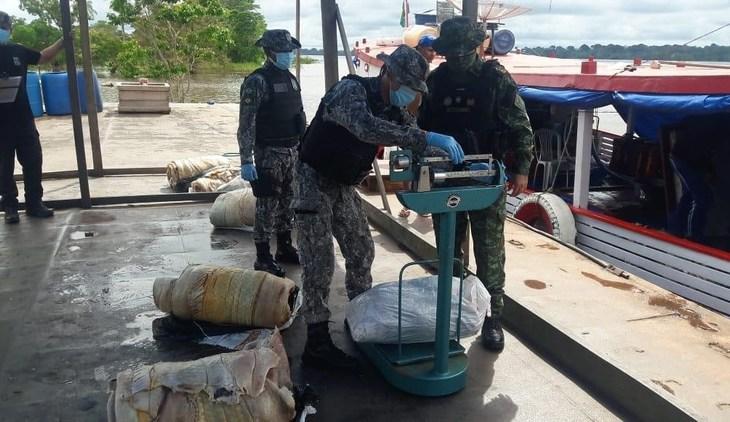 Mais de 300 quilos de pirarucu ilegal são apreendidos no Amazonas