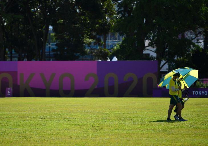 Olimpíada: moradores e atletas sofrem com forte calor no Japão