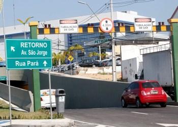 Passagem subterrânea do Complexo viário Ministro Roberto Campos é interditada