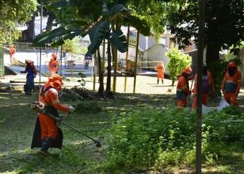 Parque Cidade da Criança começa a ser revitalizado pela prefeitura