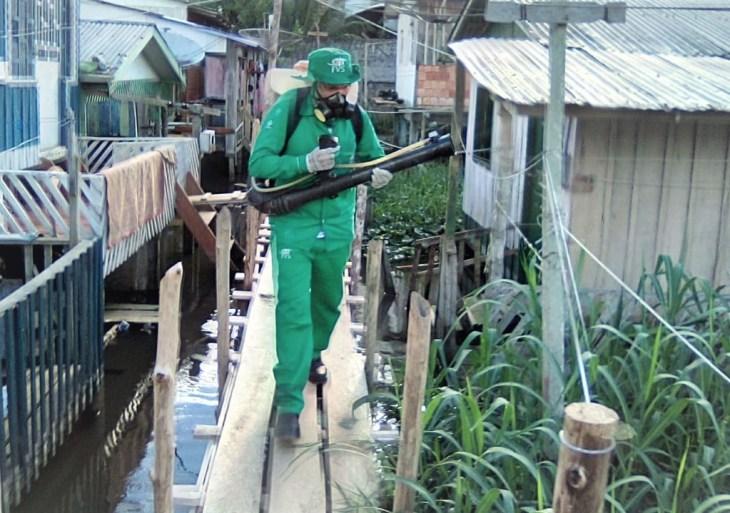 Casos de chikungunya aumentam em Tefé e Vigilância em Saúde do Amazonas intensifica ações de controle vetorial
