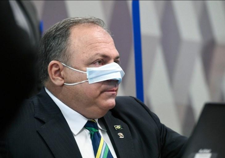MP entra com ação de improbidade contra Pazuello e aponta dano de R$ 122 milhões