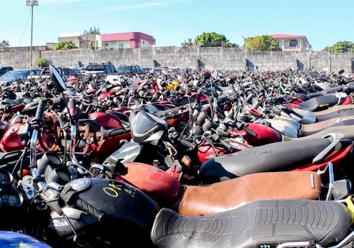 Após vistoria em veículos recolhidos por infrações de trânsito, operação Pátio Limpo identifica 430 suspeitos de roubo e furto