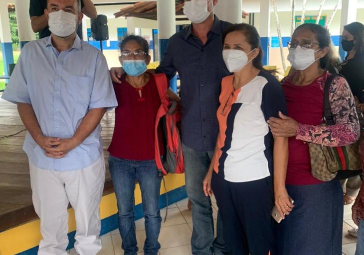 Vereador Peixoto participa de reunião com Rotta e Pauderney em Escola Rural