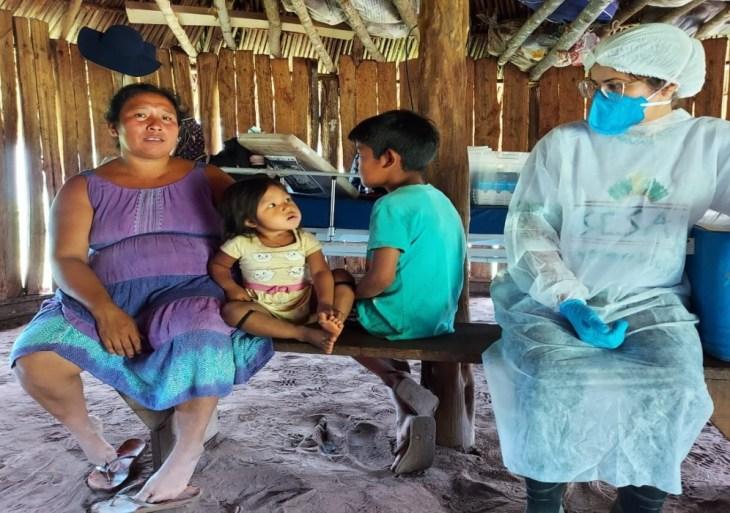 Mutirão de saúde leva atendimentos para indígenas no Xingu