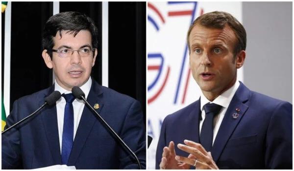 Randolfe vai receber honraria francesa concedida por Macron