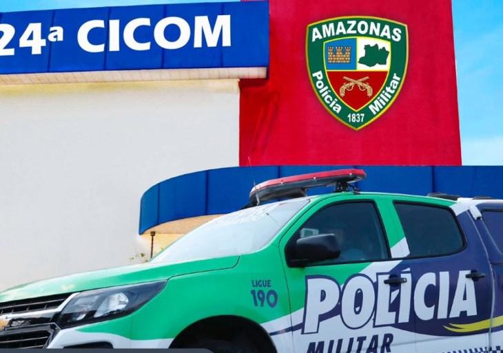 No Centro, Polícia Militar detém indivíduo por roubo de celular