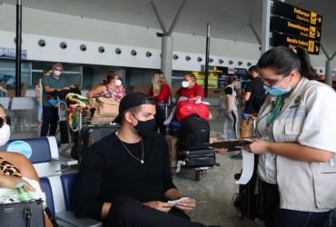 Vigilância Ativa já realizou 8,9 mil testes de Covid-19 em passageiros desembarcados em Manaus