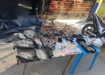 Grupo criminoso suspeito de tráfico é preso em ação conjunta da PM e PC em Carauari
