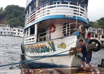 Polícia Militar apreende duas toneladas de pescado ilegal no porto São Raimundo