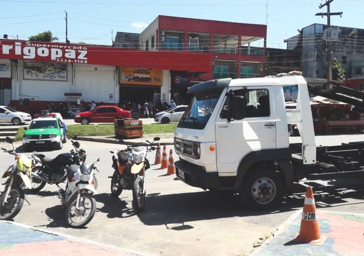 Detran-AM realiza ações em Urucará e Rio Preto da Eva