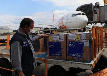 Governo do Amazonas recebe mais 83.700 doses de vacinas contra Covid-19