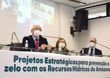 Angelus Figueira indicará ao Governo do Amazonas criação do Instituto de Gestão dos Recursos Hídricos